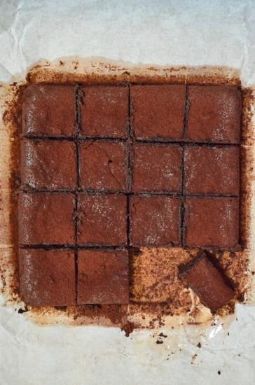 choc truffle brownie 8