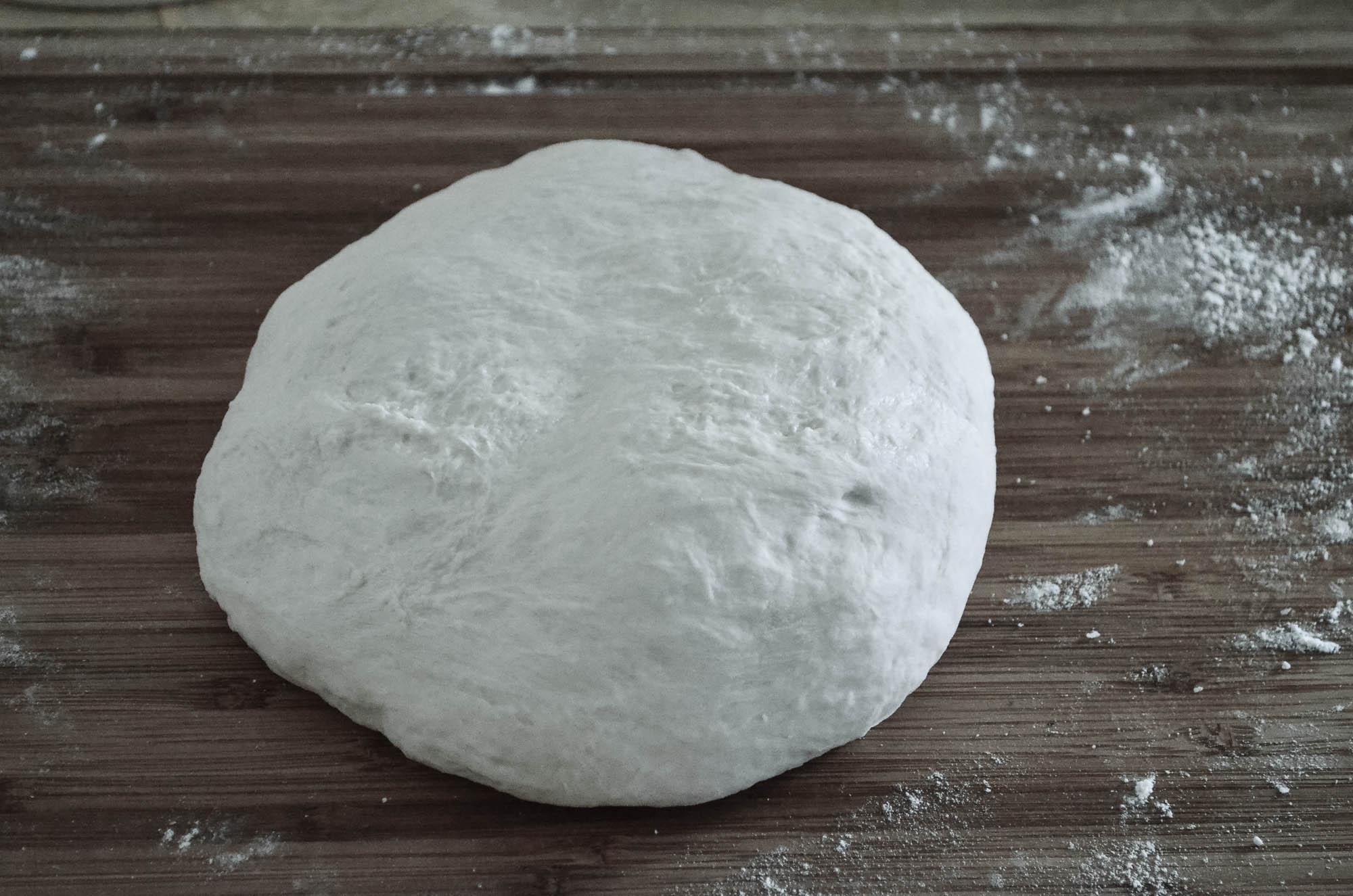 proofed dough
