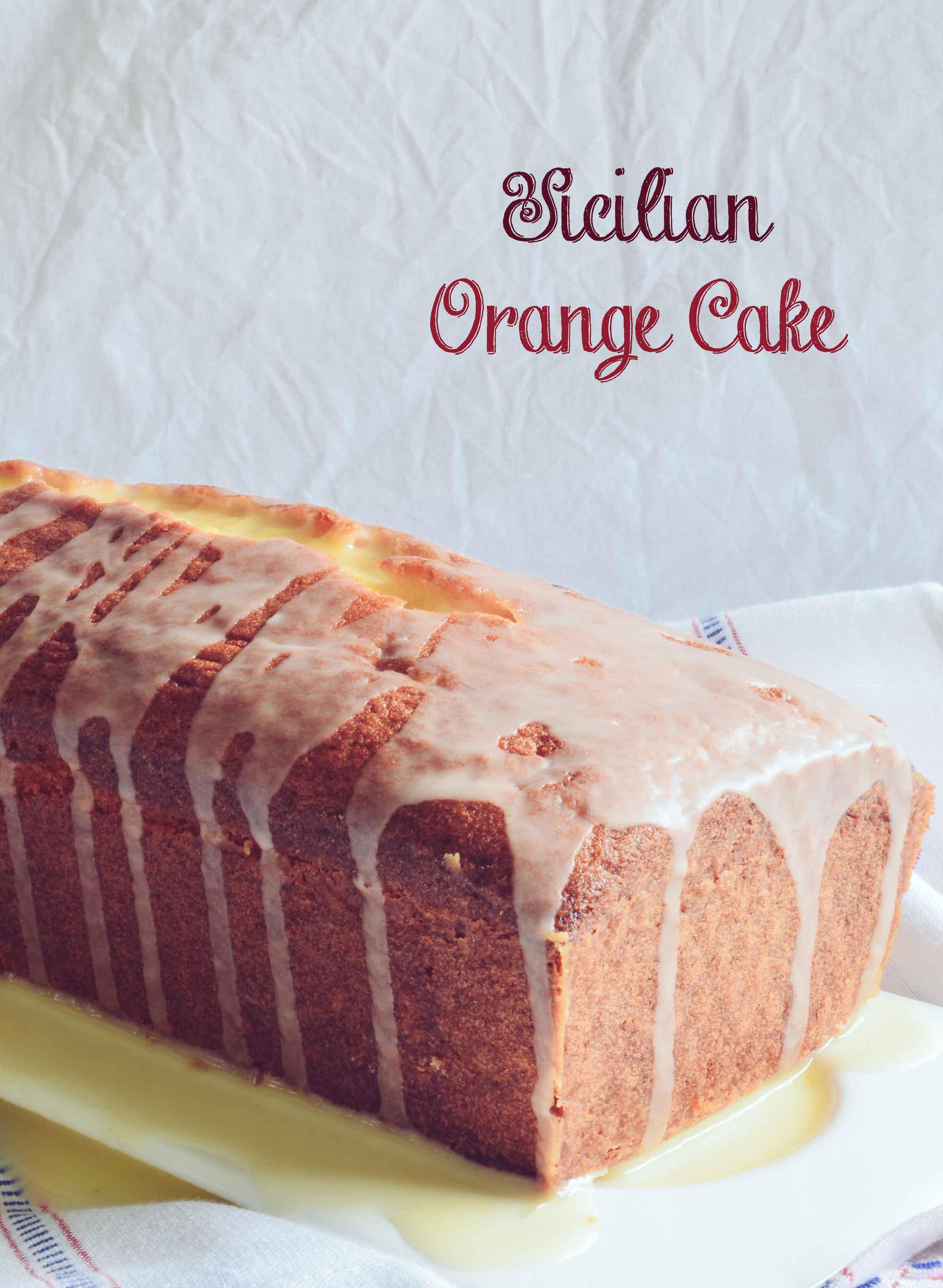 Sicilian Orange Cake-1